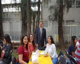 Convivio ofrecido a los beneficiados de la Beca al talento en la Educación Media Superior